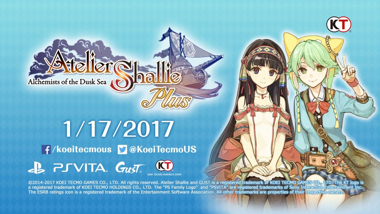 Atelier Shallie Plus: Official Trailer