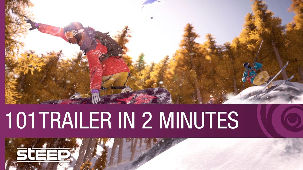 STEEP Trailer: 101 Overview in 2 Minutes