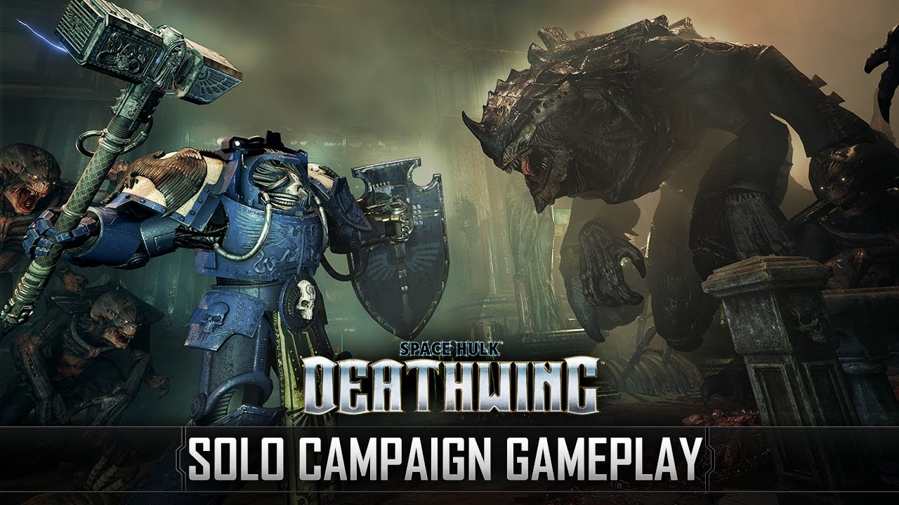 Space Hulk: Deathwing - Solo Campaign 17 min Gameplay