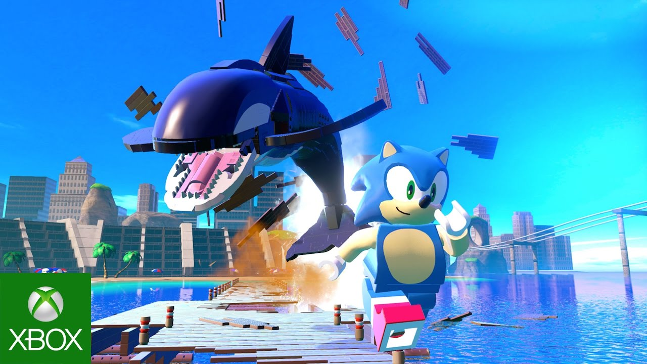 LEGO Dimensions Sonic Gameplay Trailer