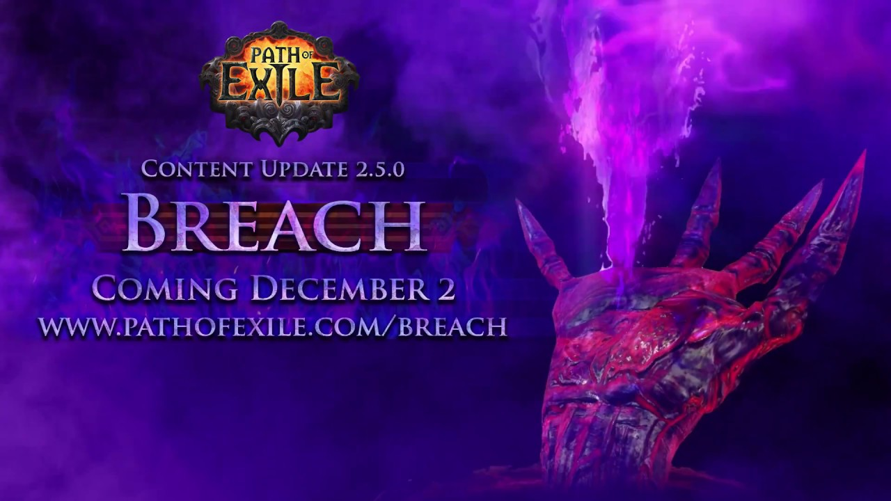 Path of Exile: Breach League Official Trailer