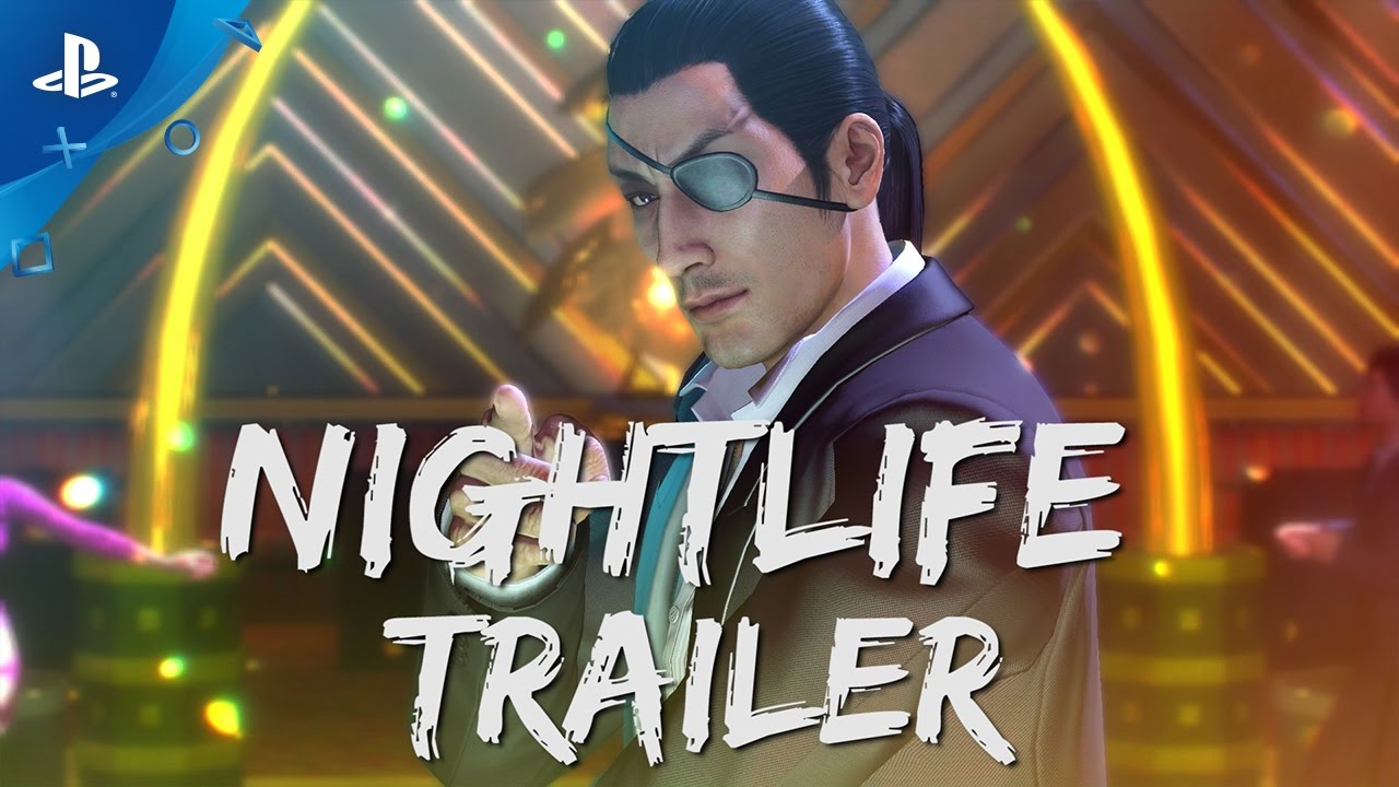 Yakuza 0 - Nightlife Trailer