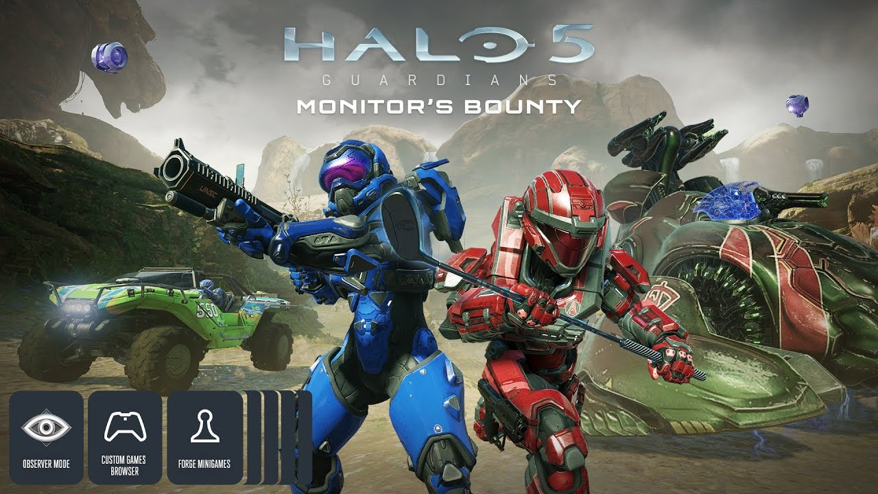 Halo 5: Forge Monitor's Bounty Trailer
