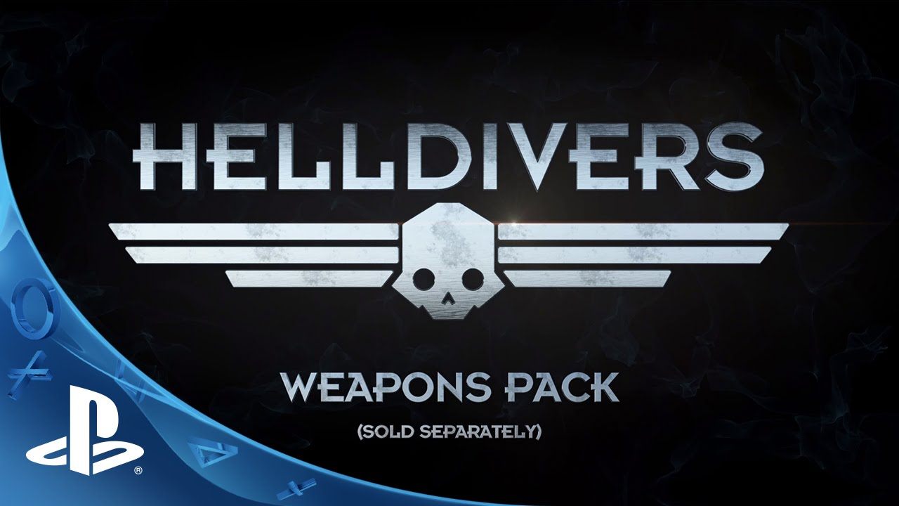 HELLDIVERS Weapons Pack Trailer | PS4, PS3, PS Vita