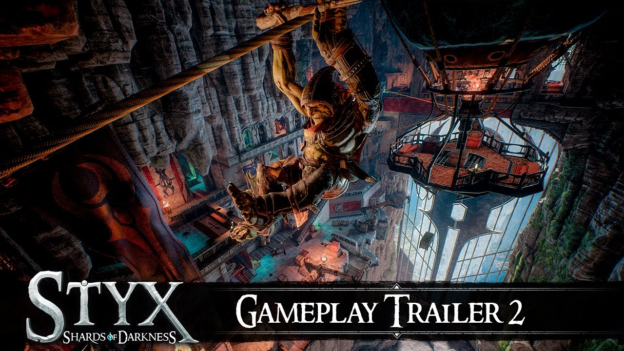 Styx Shards of Darkness - Gameplay Trailer 2