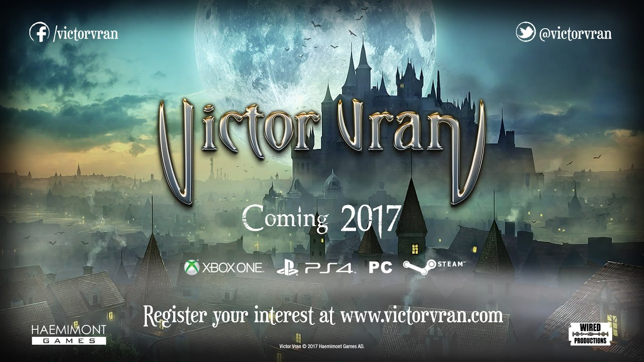 Victor Vran Accolade and Console Announce Trailer