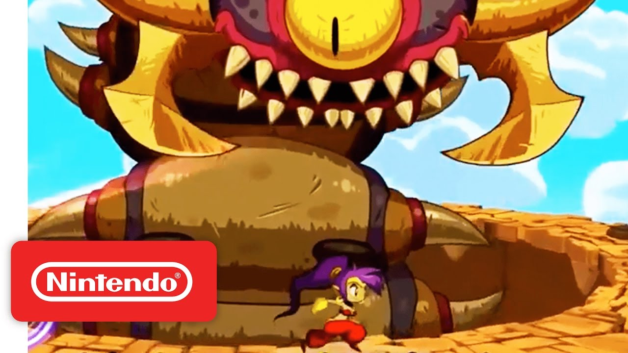Shantae: Half-Genie Hero Launch Trailer