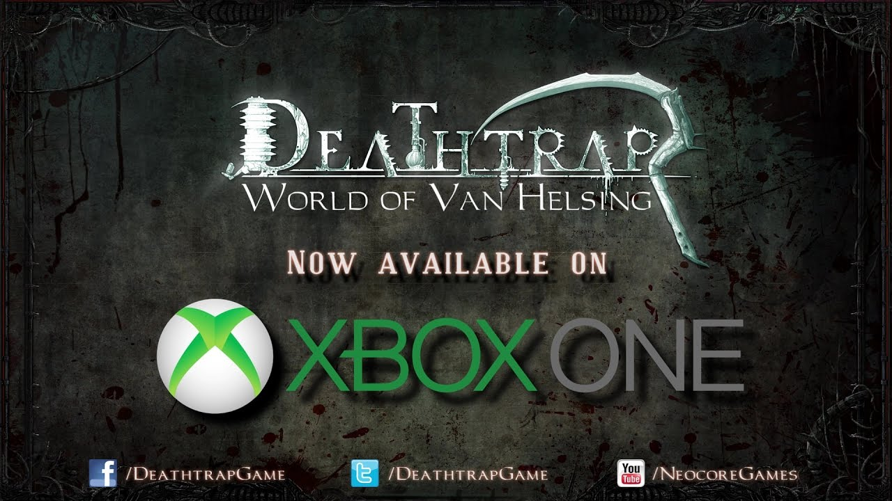 Deathtrap - Xbox One Release Trailer