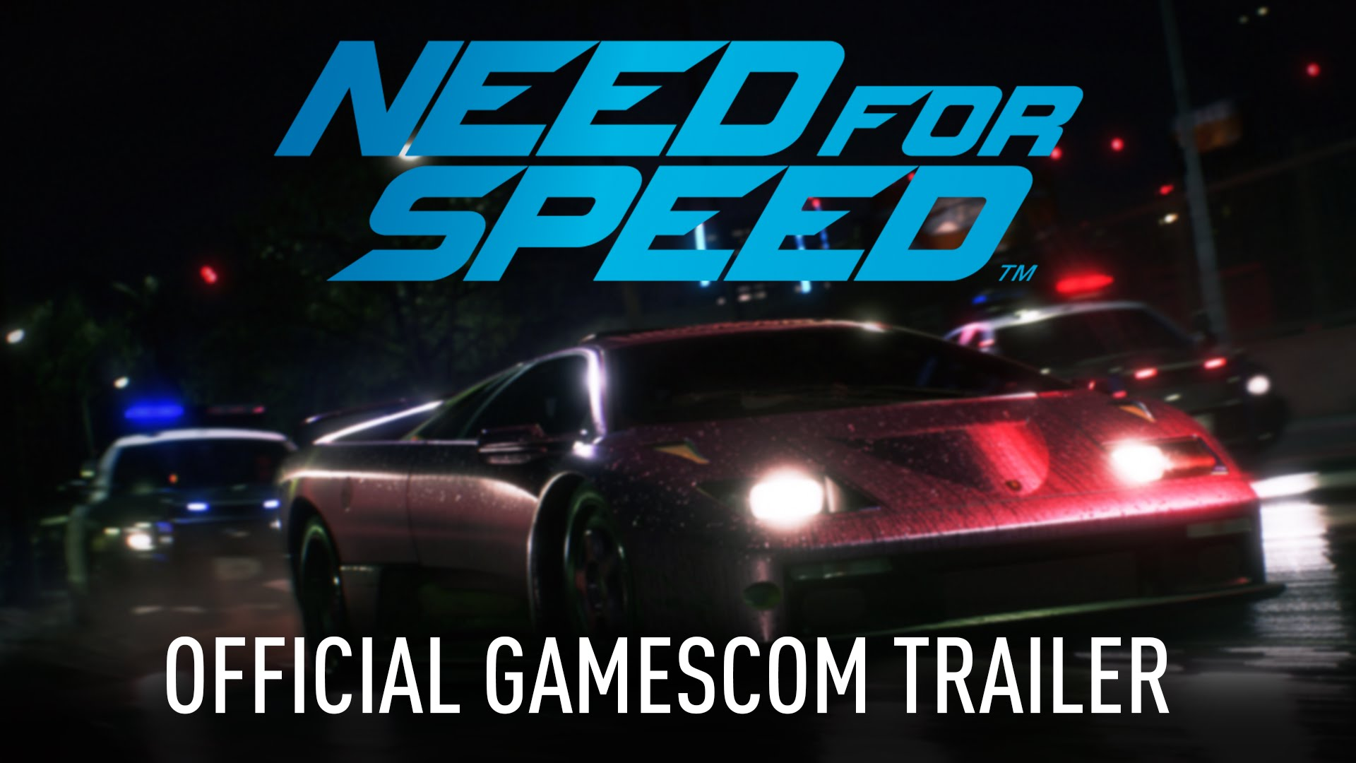 Need for Speed | Gamescom Trailer | PS4