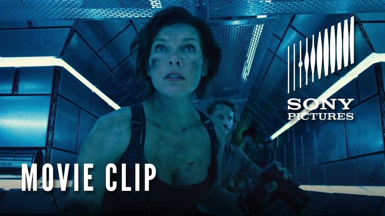 RESIDENT EVIL: THE FINAL CHAPTER Movie Clip - Inside The Hive