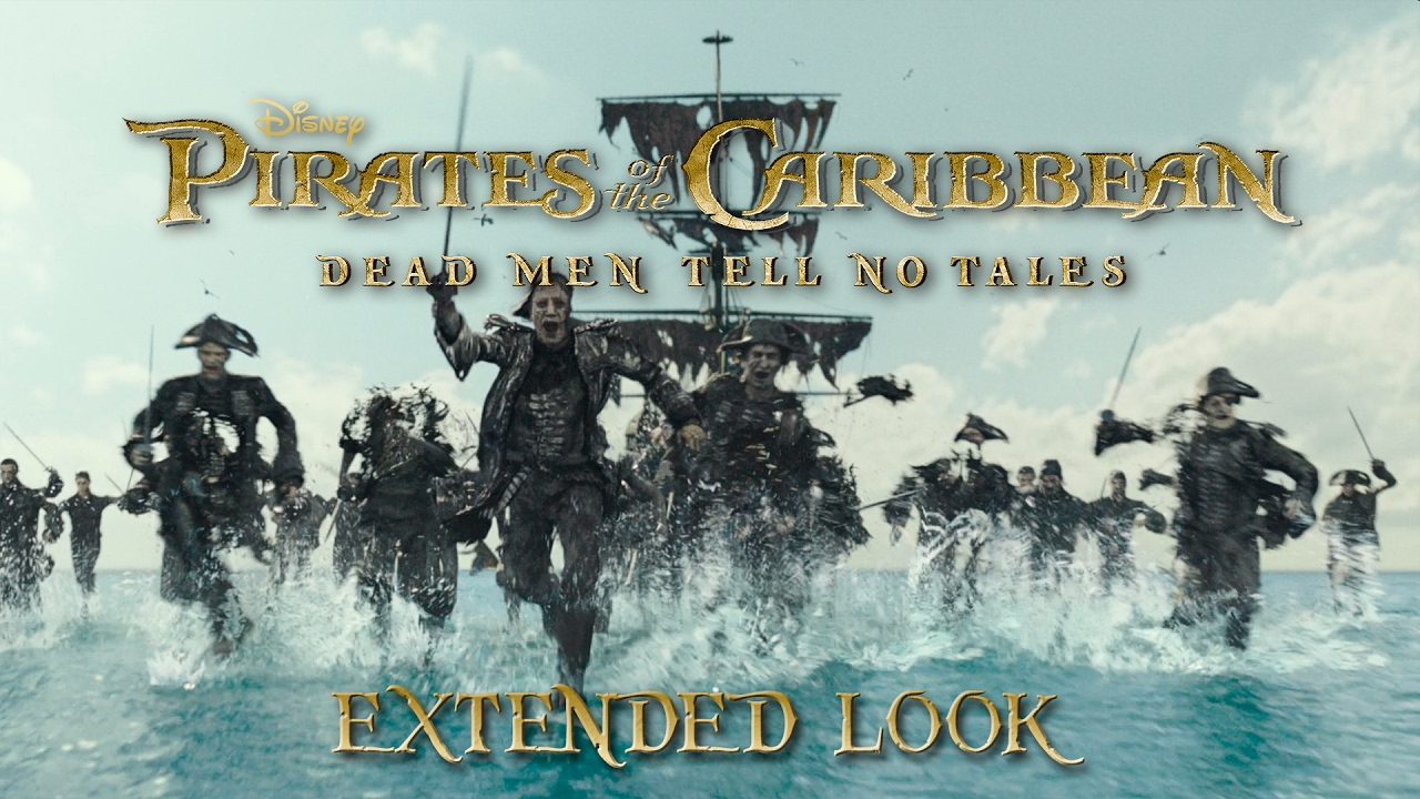 Pirates of the Caribbean: Dead Men Tell No Tales: Extended Look