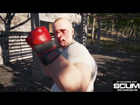 SCUM - Unarmed Combat [Pre-Alpha]