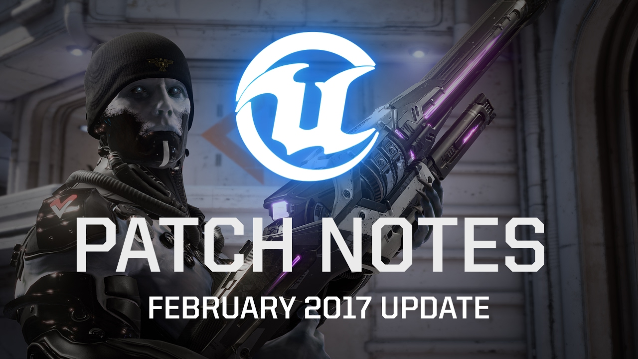 Unreal Tournament - February 2017 Patch Notes