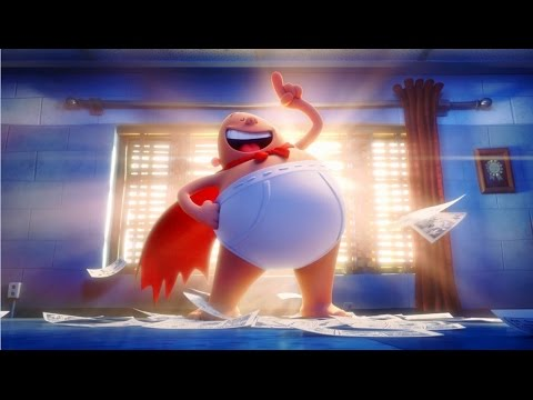 Captain Underpants | Official HD Trailer #1