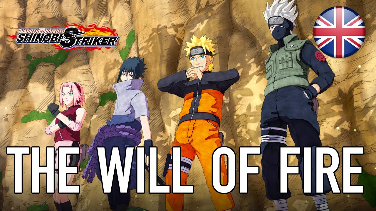 NARUTO TO BORUTO: SHINOBI STRIKER - The Will of Fire (announcement trailer)