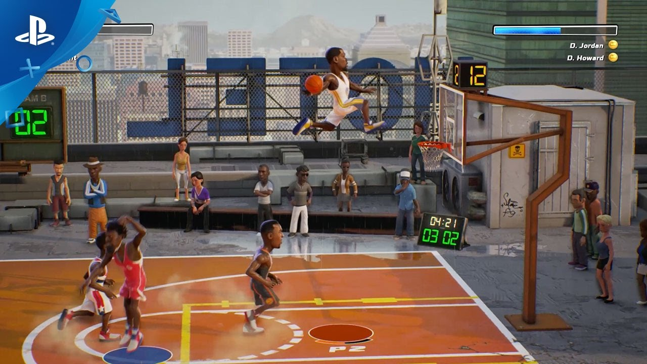 NBA Playgrounds – Gameplay Trailer