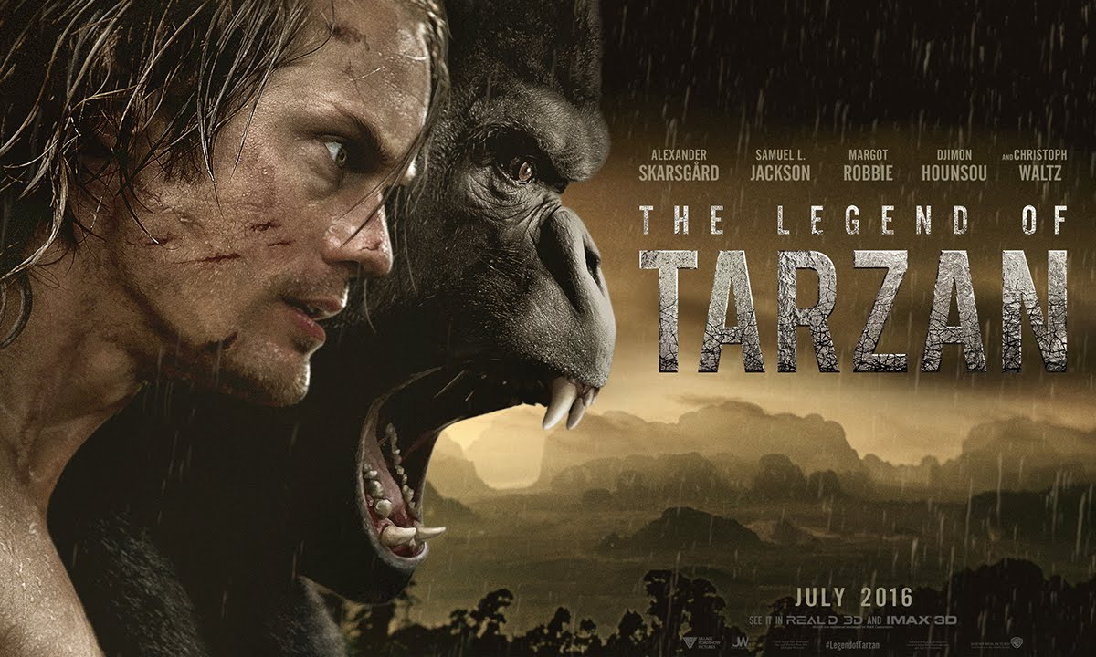 The Legend of Tarzan - Official Teaser Trailer