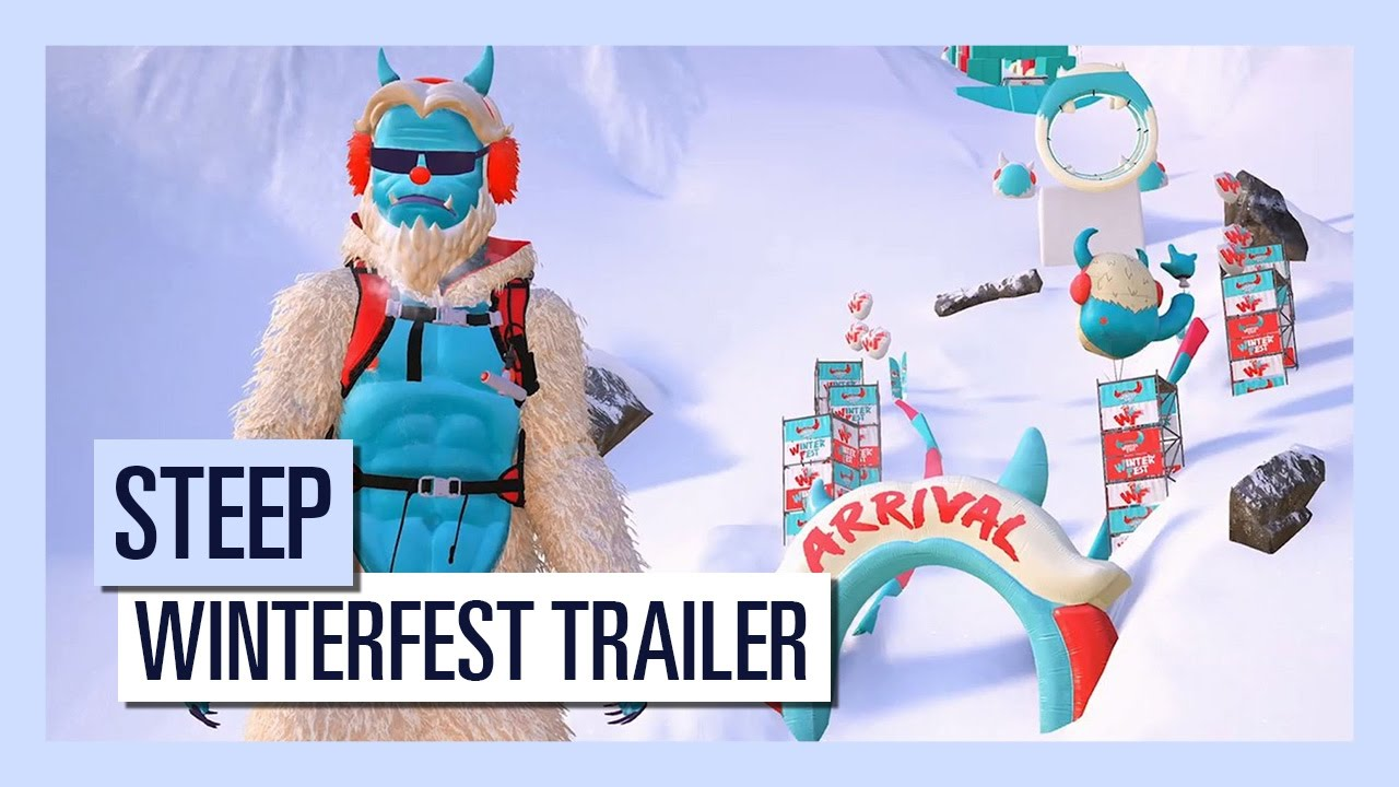 STEEP - Winterfest trailer (DLC)