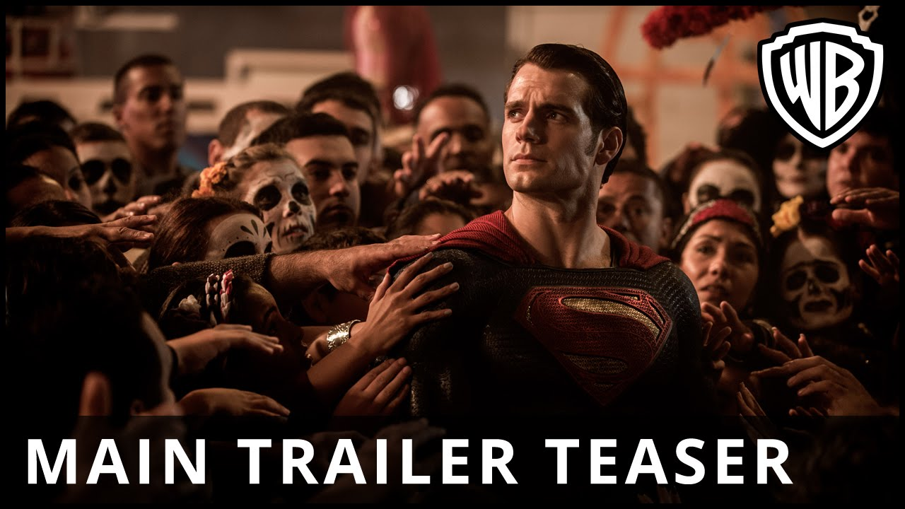 Batman v Superman: Dawn Of Justice - Main Trailer Teaser