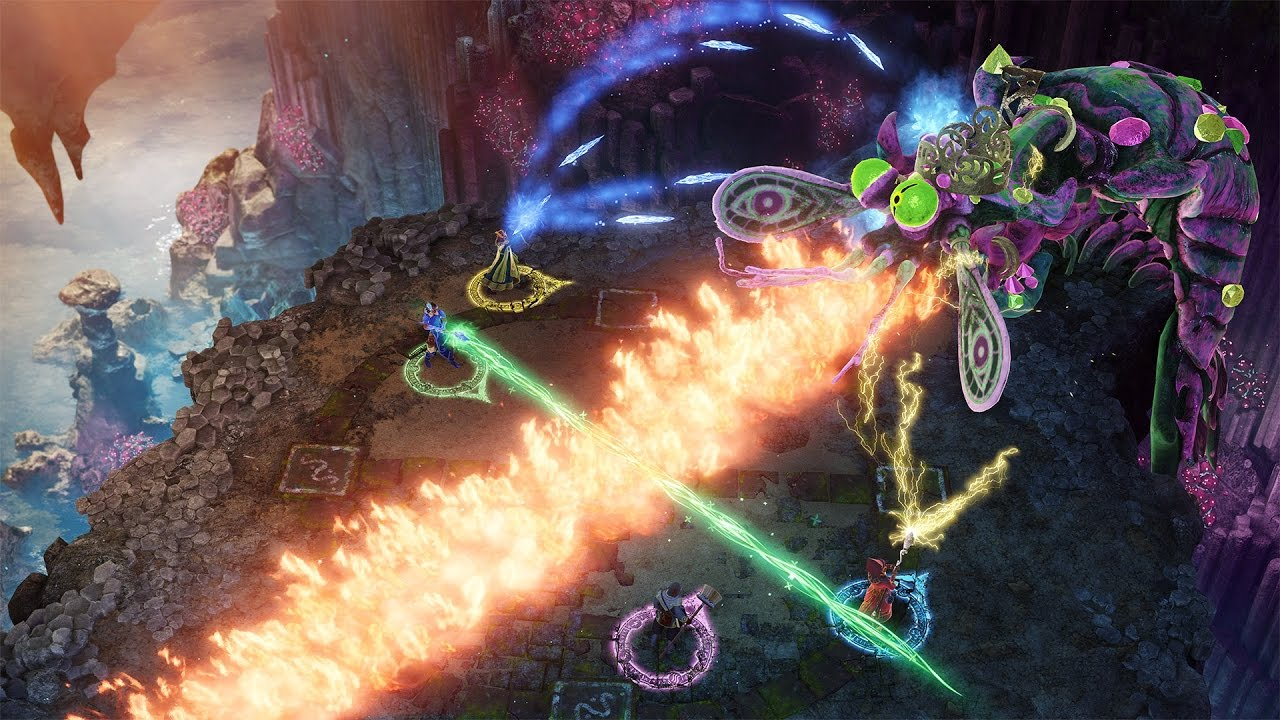 Nine Parchments Nintendo Switch Announcement Trailer