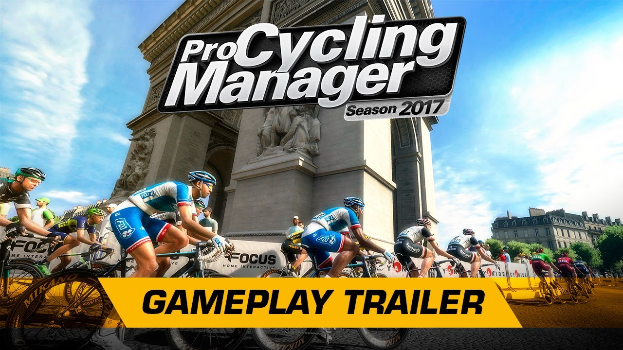 Pro Cycling Manager 2017 - Gameplay Trailer