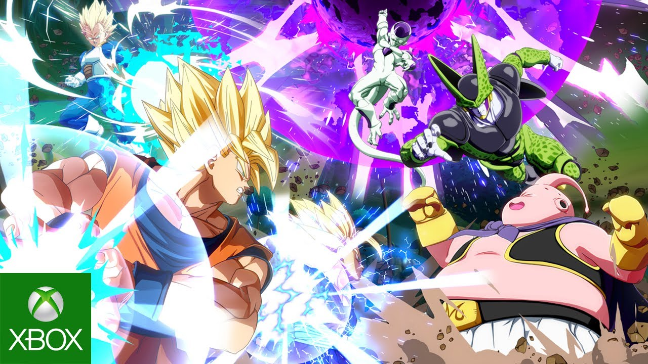DRAGON BALL FighterZ - E3 2017 Trailer