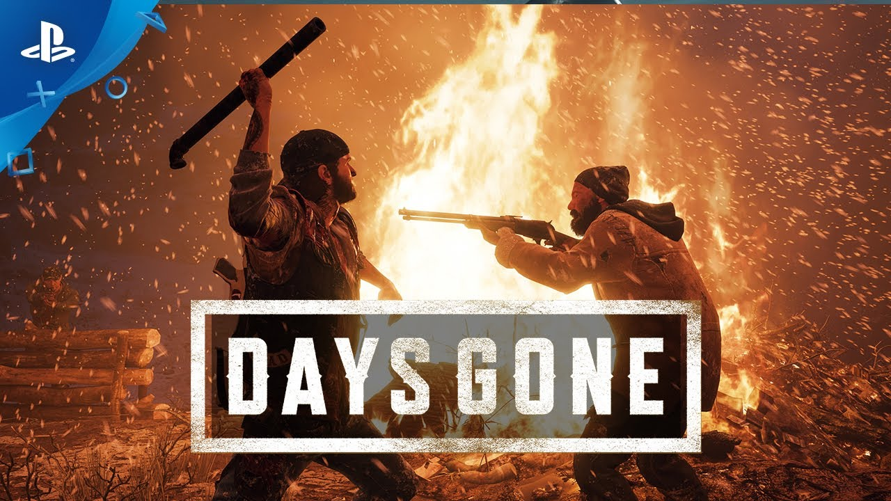 Days Gone - PS4 Gameplay | E3 2017