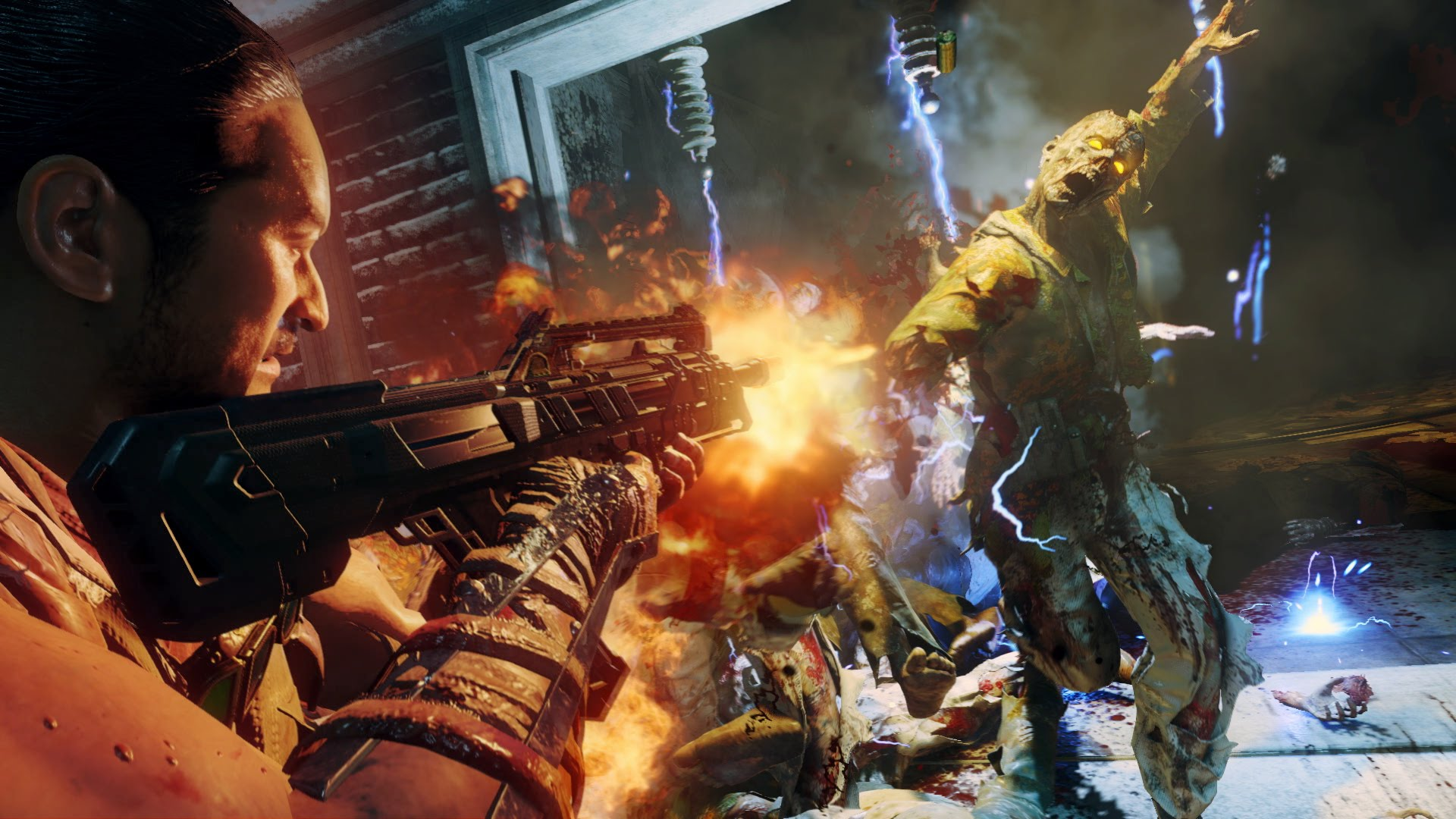 "Call of Duty®: Black Ops III - ""The Giant"" Zombies Bonus Map Gameplay Trailer"