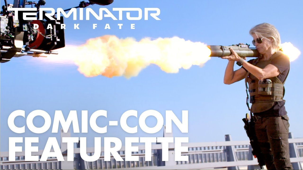 Terminator: Dark Fate – San Diego Comic-Con Featurette (2019)