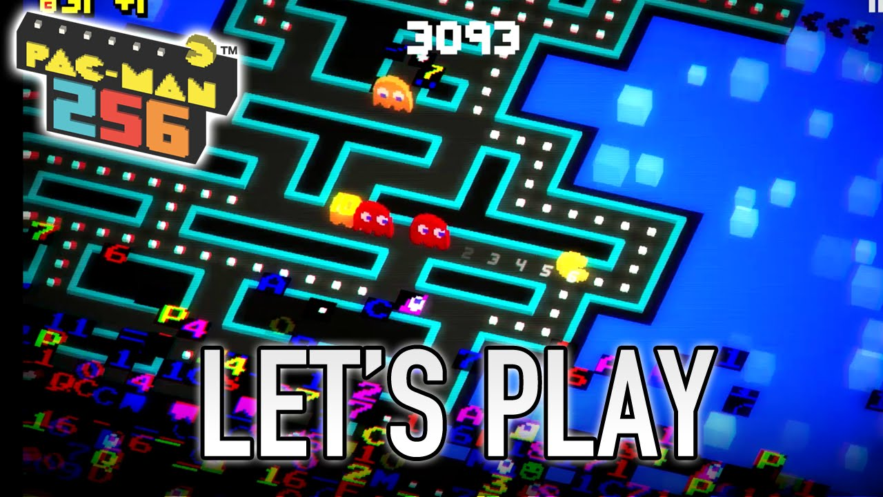PAC-MAN 256 - Mobile/Tablet - Let's Play (Gameplay)
