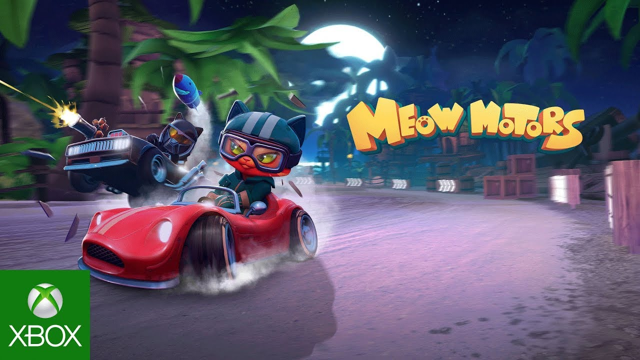 Meow Motors  Xbox One Launch Trailer