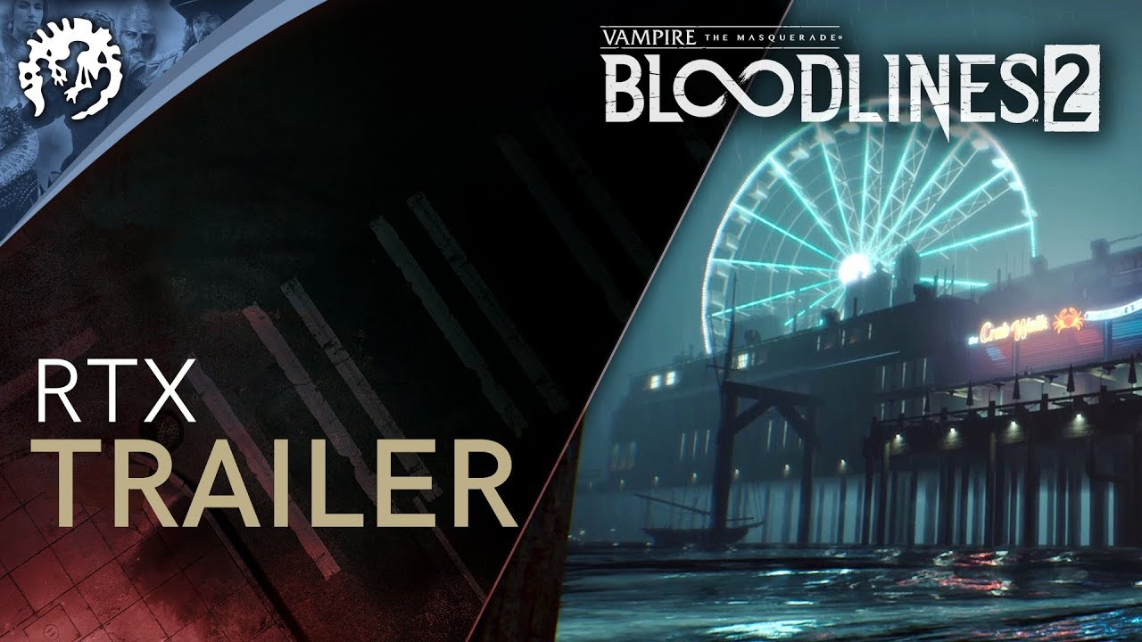 Vampire: The Masquerade - Bloodlines 2 - Gamescom RTX Trailer
