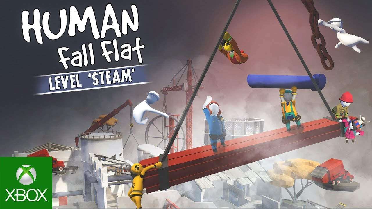 Human: Fall Flat Steam Level - Announcement Trailer