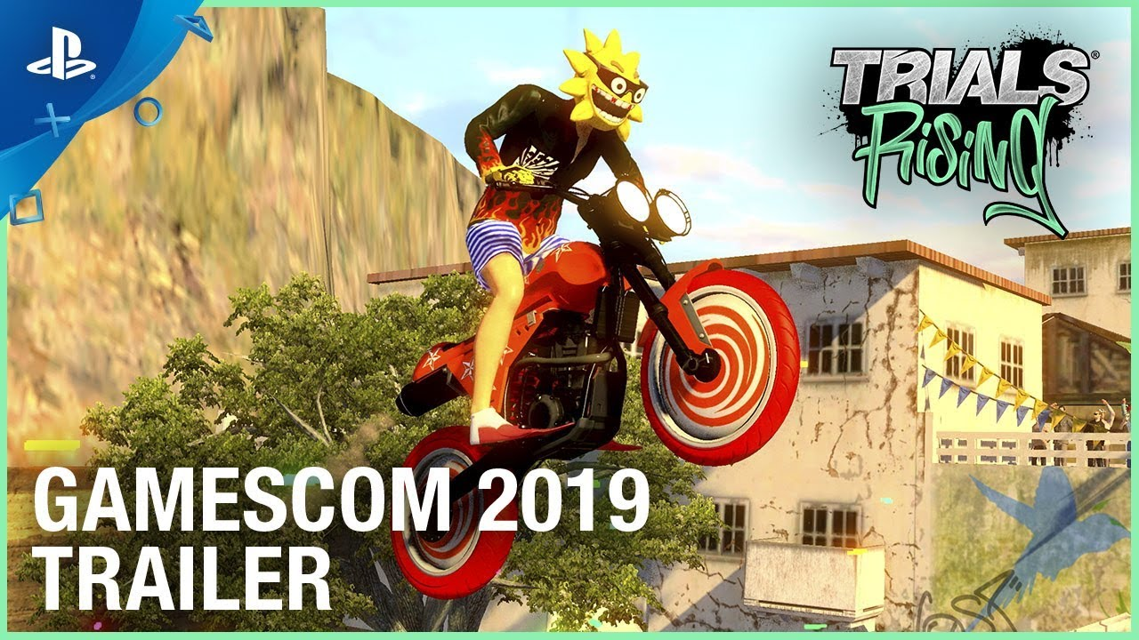 Trials Rising - Gamescom 2019 Crash & Sunburn DLC Reveal Trailer
