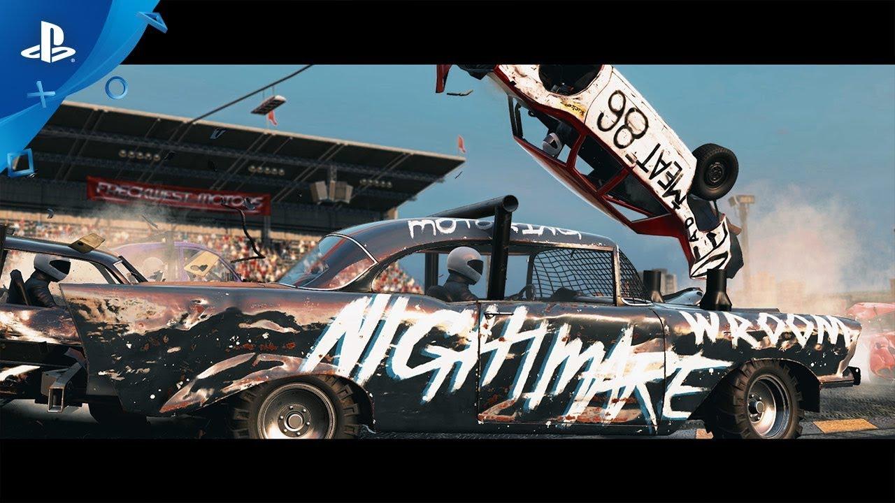 Wreckfest - Console Release Trailer