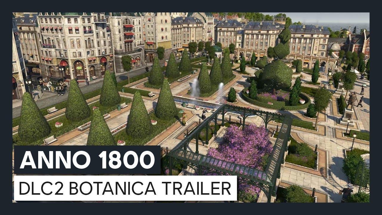 ANNO 1800™ : DLC2 Botanica Trailer