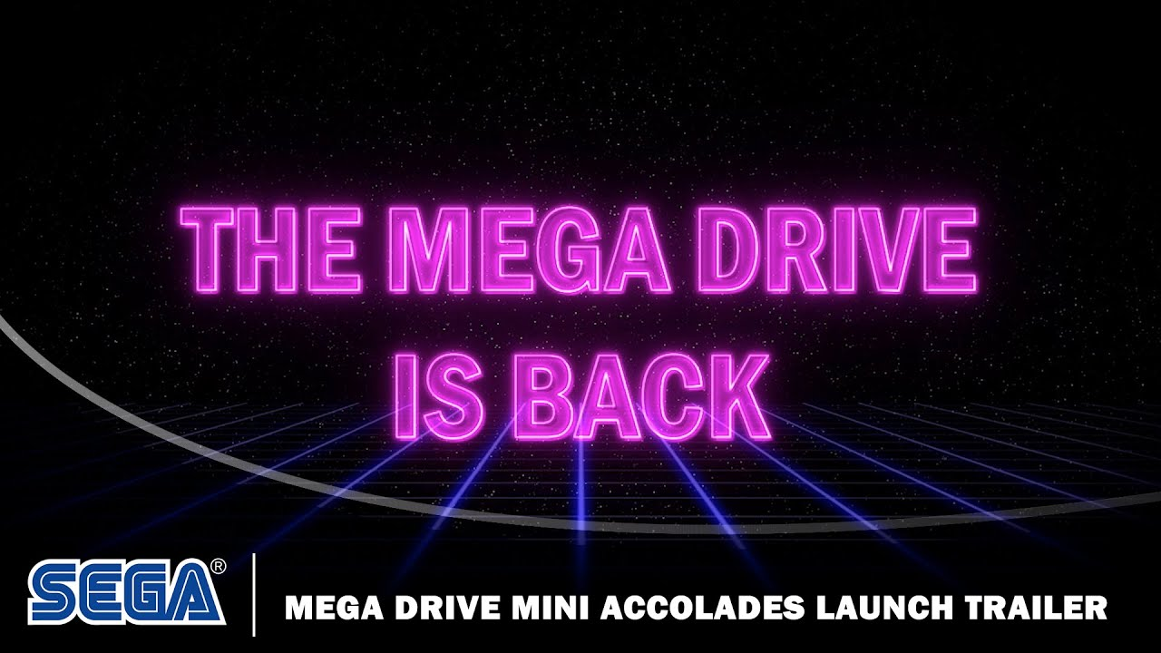 SEGA Mega Drive Mini Accolades Launch Trailer