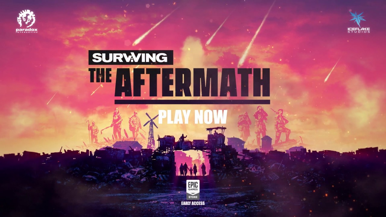 Surviving the Aftermath - Announcement Trailer