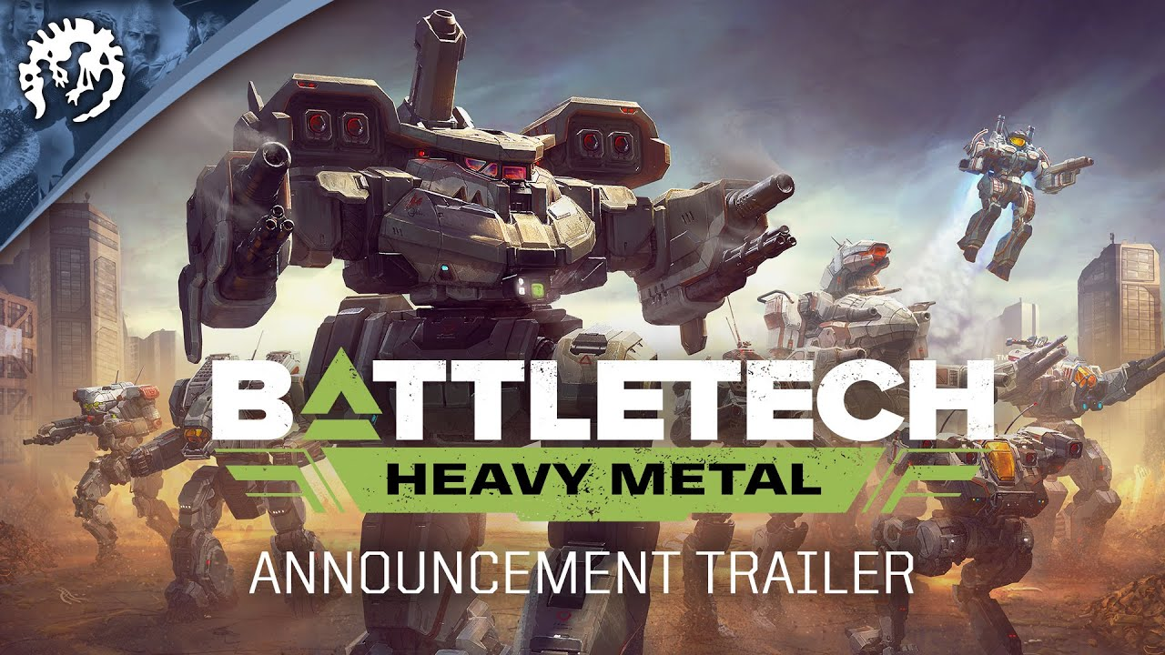 BATTLETECH: Heavy Metal | Announcement Trailer #PDXCON2019