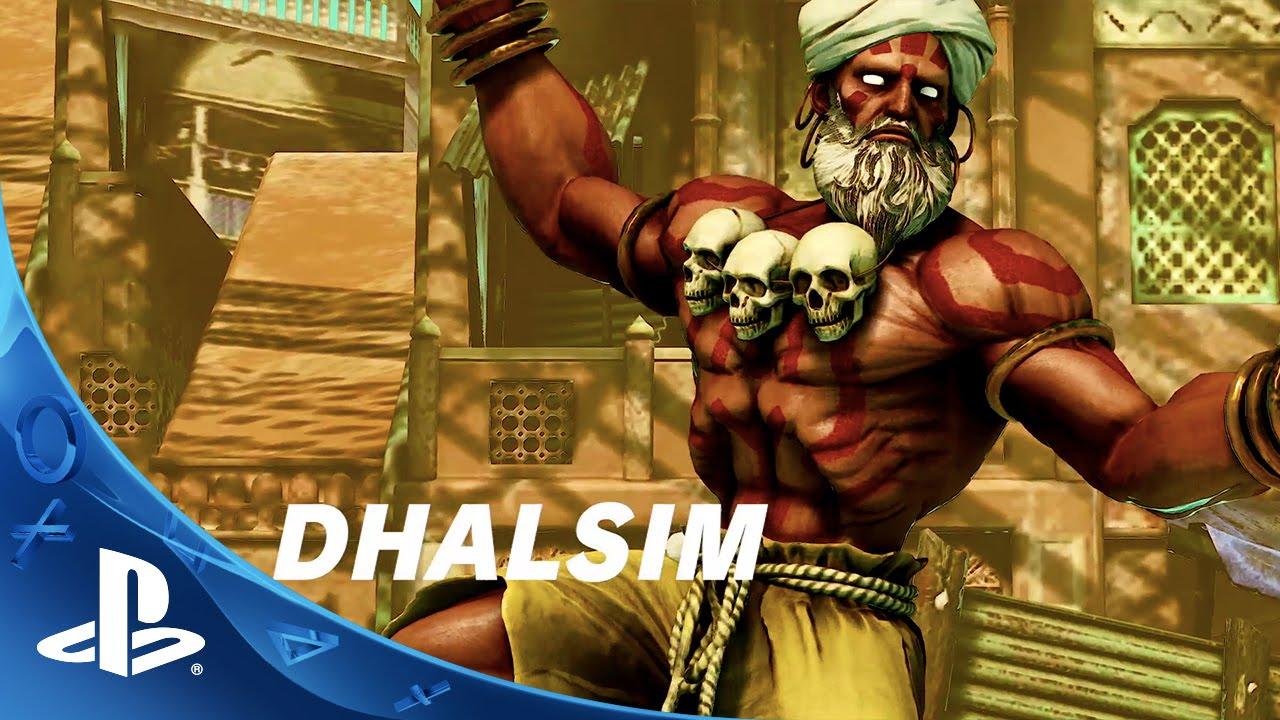 Street Fighter V - Dhalsim Trailer