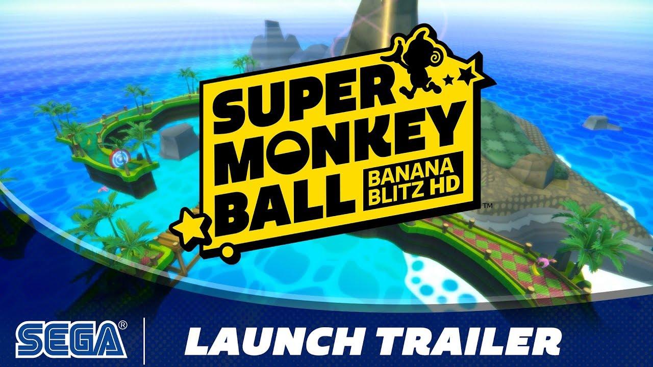 Super Monkey Ball: Banana Blitz HD | Launch Trailer