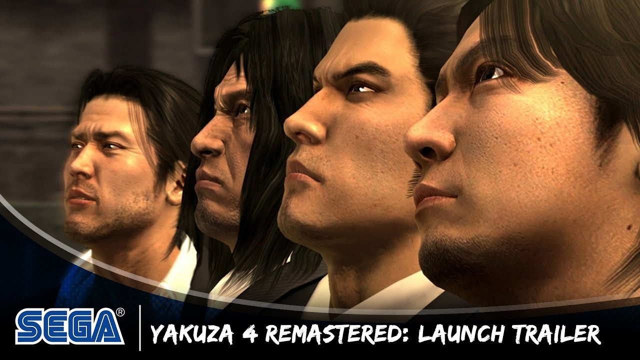 Yakuza 4 Remastered: Launch Trailer