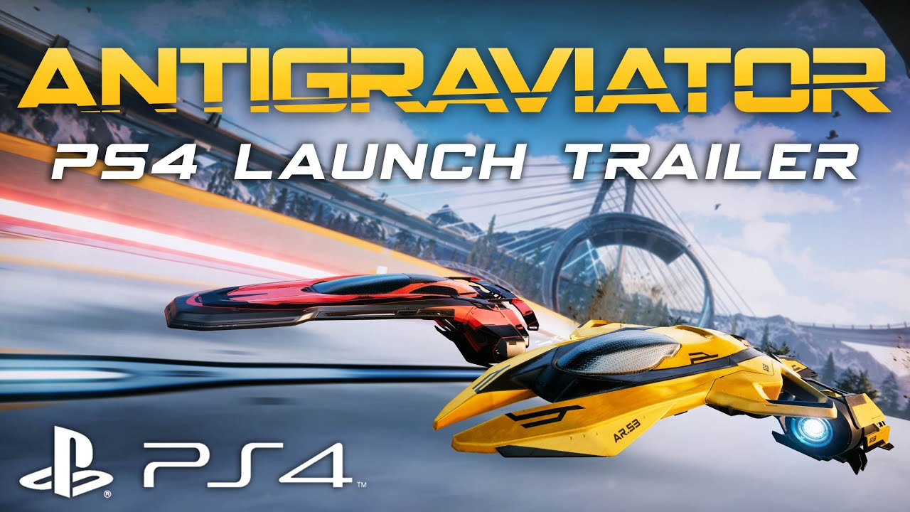 Antigraviator - PS4 Launch Trailer