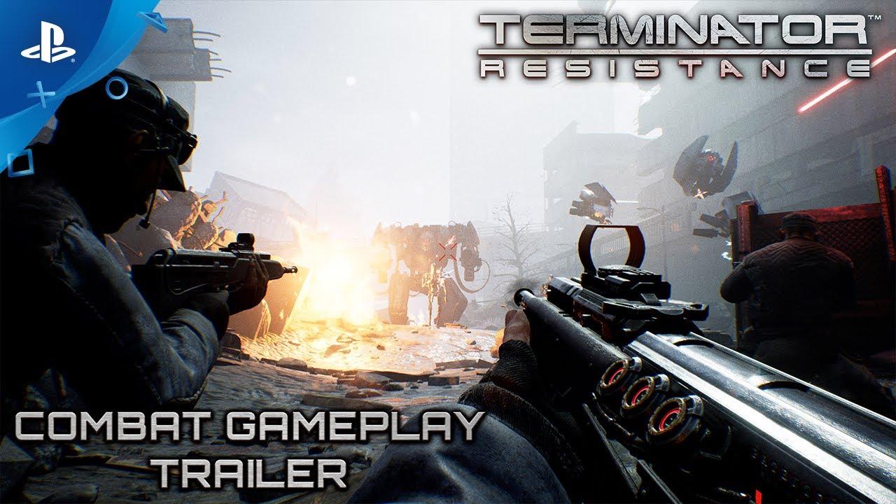Terminator: Resistance | Combat Gameplay Trailer