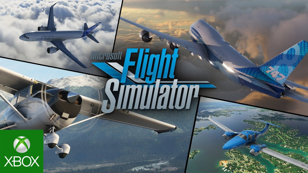 Microsoft Flight Simulator - X019 - Gameplay Trailer