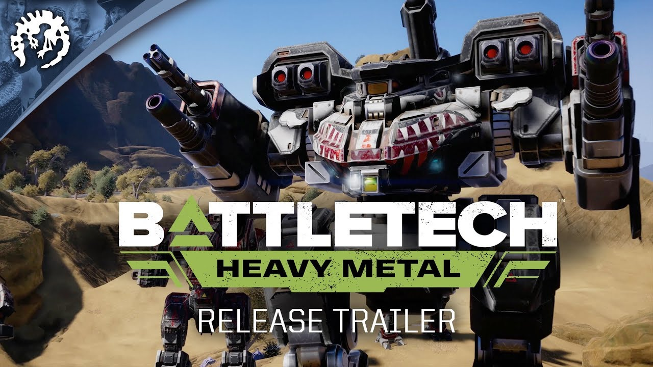 BATTLETECH: Heavy Metal | Release Trailer