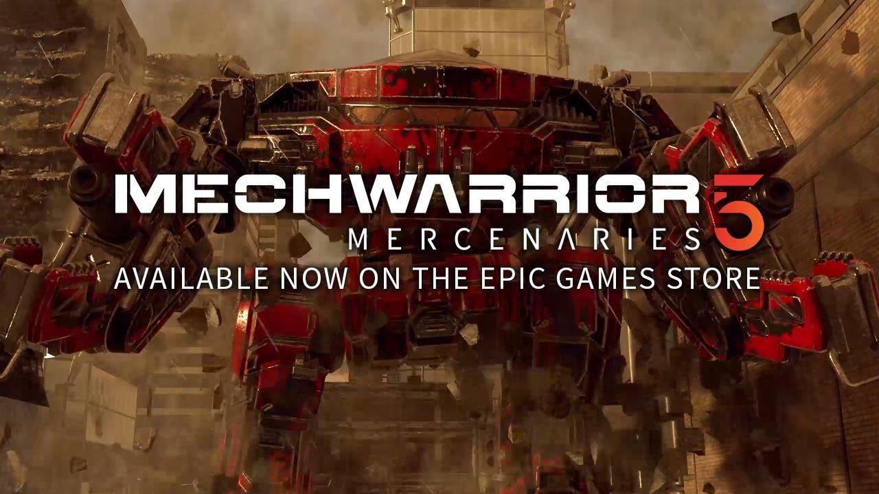Mechwarrior 5 - Launch Trailer