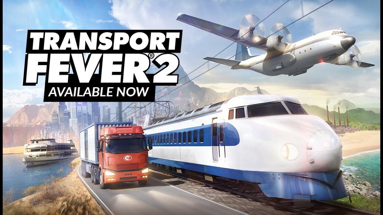 Transport Fever 2 - Launch Trailer