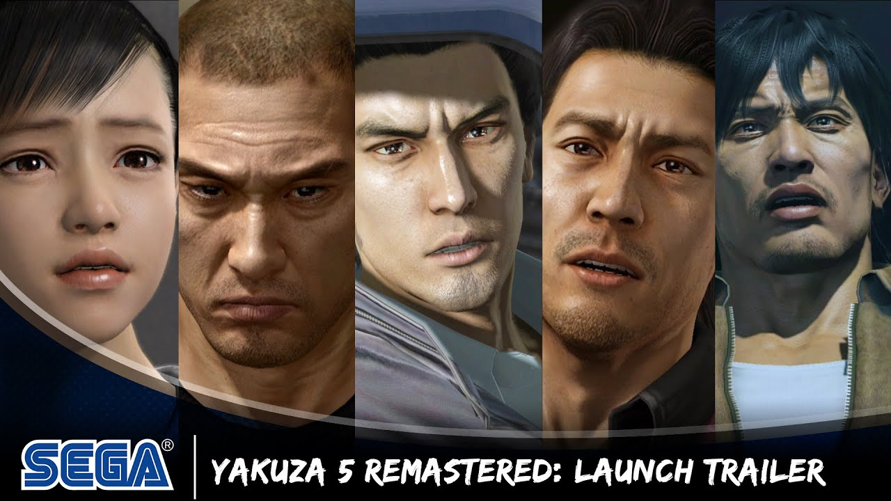 Yakuza 5 Remastered Launch Trailer