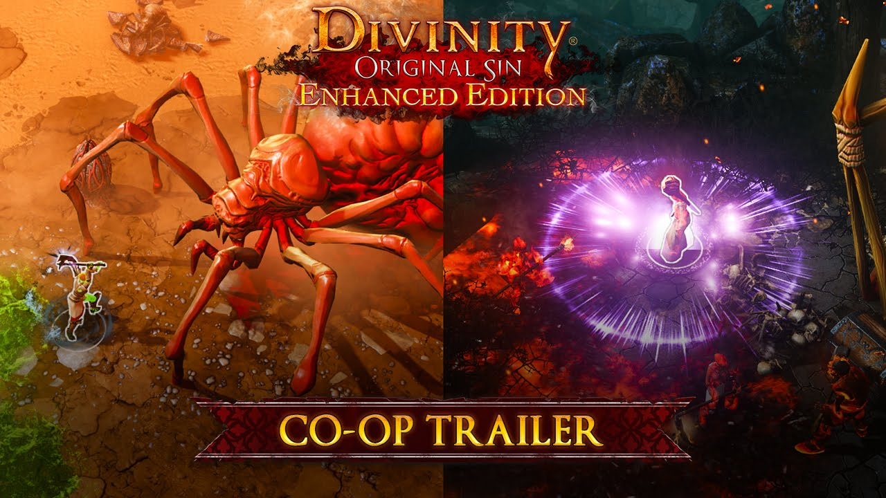 DIVINITY ORIGINAL SIN ENHANCED EDITION - CONSOLE COOP TRAILER